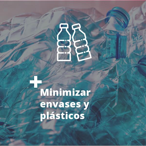 Minimizar envases y plásticos